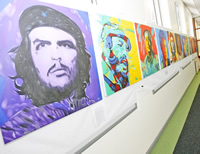 Féile Art Exhibition - World Policital Icons