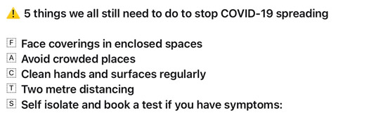 5 things we need to do to stop COVID-19 spreading