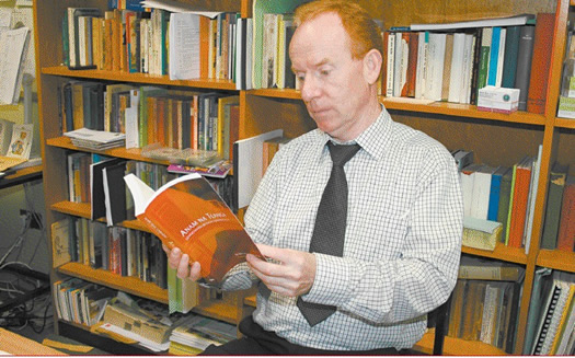 Seán Mac Labhraí  - new irish book launched